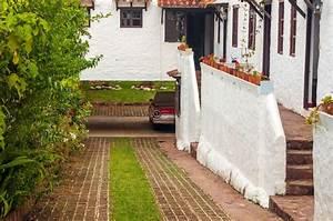 allee de jardin pave et pelouse With allee de jardin en pave