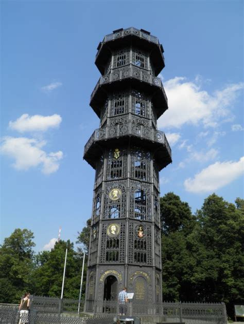 Lobau - cast iron tower, a photo from Sachsen, East