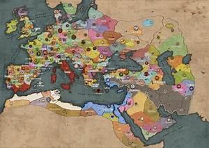 Grand Campaign Map image - Ancient Empires: Attila Total ...