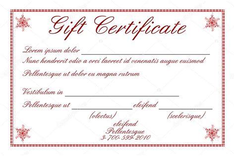 gift certificate stock photo  getnet