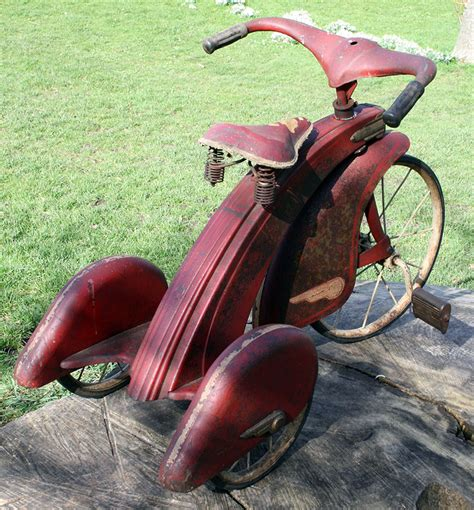 1935 American National Streamline Velocipede Tricycle ...