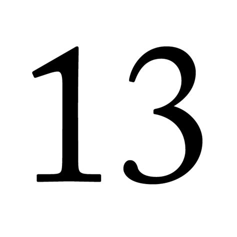 Esp The Number 13 Lucky Or Unlucky