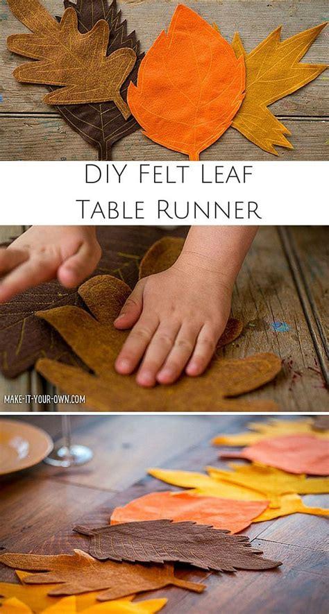 ideas  fall table runner  pinterest