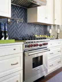 Kitchen Backsplash Mosaic Tiles Kitchen Backsplashes Dazzle With Their Herringbone Designs