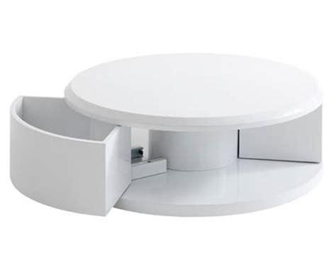alinea chambre table basse console ayley en fibres de bois blanc meuble