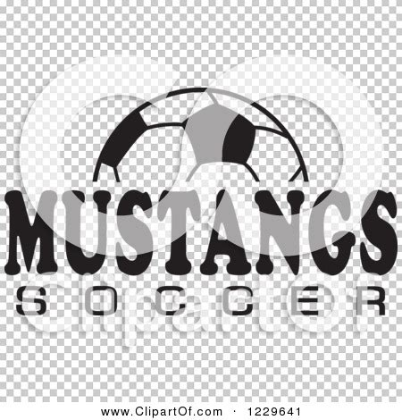 soccer team clipart black and white clipart of a black and white and mustangs soccer team