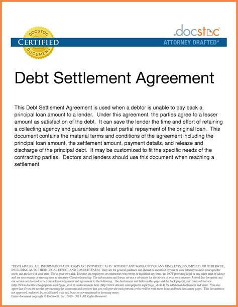 irs debt settlement marital settlements information