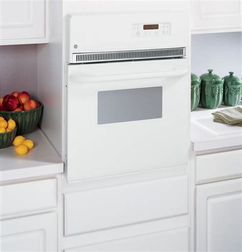jrpwjww ge  electric single  cleaning wall oven white