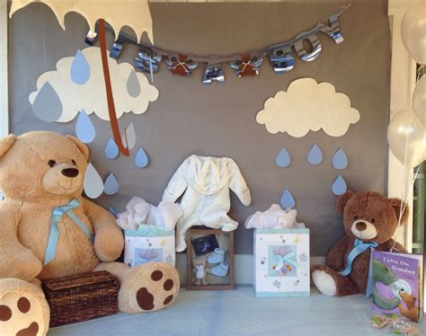 teddy themed baby shower baby bear theme shower for boy baby shower pinterest boy baby showers teddy bear baby