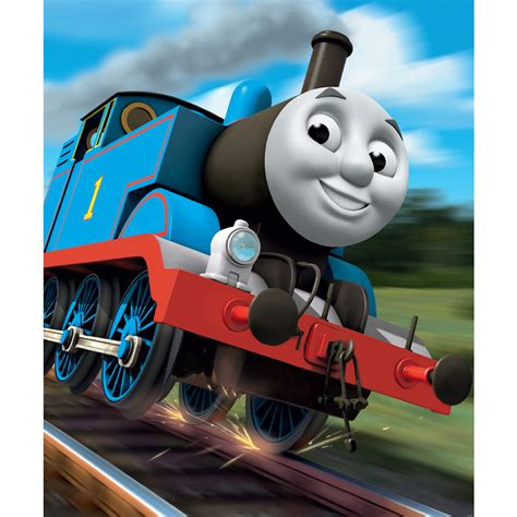 Decorating With Christmas Lights In Bedroom by Walltastic Thomas The Tank Engine Wallpaper Mural 8ft X