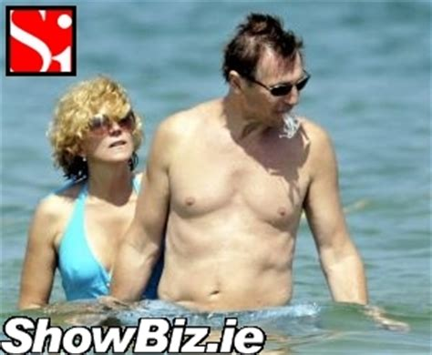 liam neeson bikini showbiz ireland irish celebrity news photos society