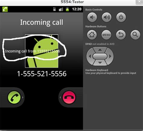 call my android pop up window android incoming call screen