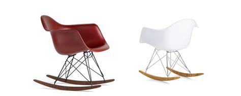 chaise bascule eames vitra eames plastic armchair rar