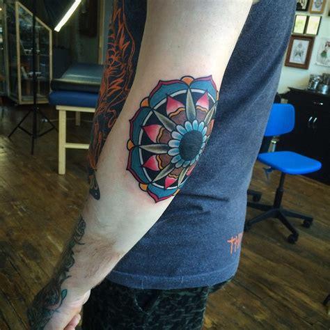 attractive elbow tattoos  men women april