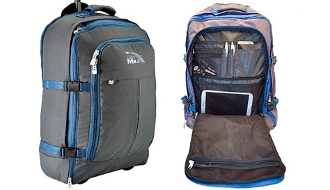 cabin max cabin max malmo lightweight convertible rolling backpack