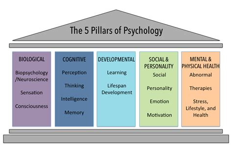 The Five Psychological Domains