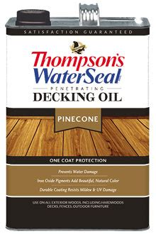 thompsons waterseal penetrating decking oil decking oil