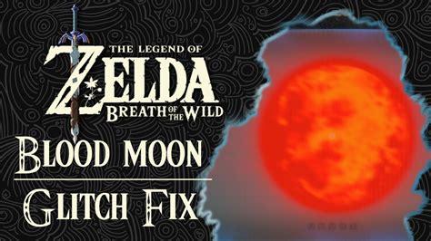 moon zelda breath blood wild legend glitch
