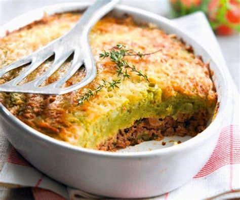 plats facile à cuisiner recette équilibré hachis parmentier diététique