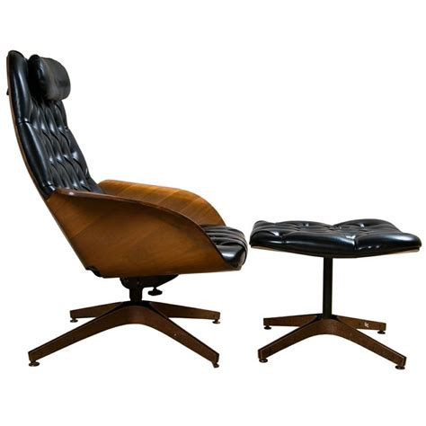 george mulhauser lounge chair and ottoman foy plycraft