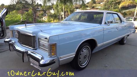 high mile mercury grand marquis  mint  owner