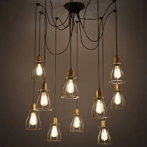 kitchen pendant lighting industrial vintage led pendant lights metal for high 2426