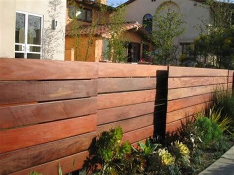 209 Best Images About Horizontal Fence On Pinterest