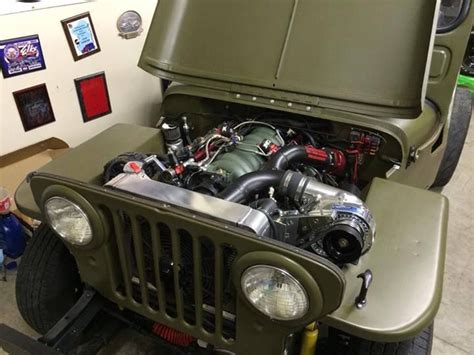 willys jeep lsx feelings are about to get hurt procharged lsx willys