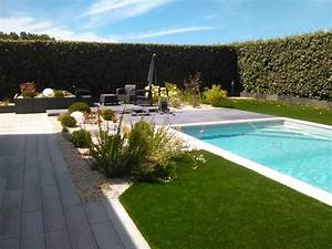 un bel amenagement autour d39une piscine With amenagement d une piscine