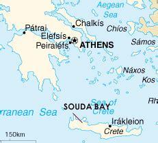Souda Bay Crete Greece Map Poisk Po Kartinkam Red
