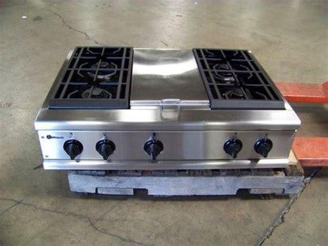 ge monogram  professional stainless rangetop cooktop