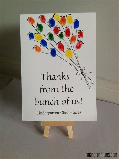 7 best kindergarten thank you cards images on 407 | ced184ef2e903f31cb472aebce5d8c82 parent volunteers gifts for classroom volunteers