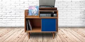 Meuble Platine Vinyle Vintage : meuble hi fi notre s lection tendance marie claire ~ Teatrodelosmanantiales.com Idées de Décoration