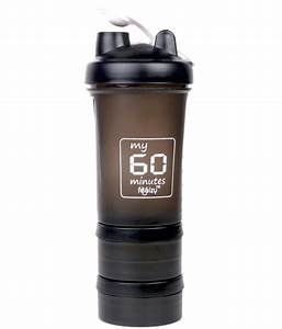 My 60 Minutes Gym Shaker Sipper Bottle 500 Ml  Buy Online At Best Price On Snapdeal
