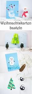 Basteln Mit Kindern Schnell Und Einfach : weihnachtskarten basteln mit kindern 5 schnelle ideen ~ A.2002-acura-tl-radio.info Haus und Dekorationen