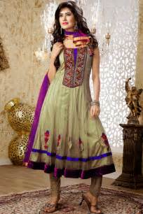 bridal designer designers wedding indian anarkali dresses 2013 trendy mods