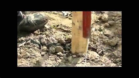 montage eines staketenzaunes aus kastanienholz youtube