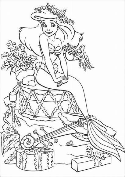 Colorear Dibujos Sirenita Ariel Dibujosparacolorear