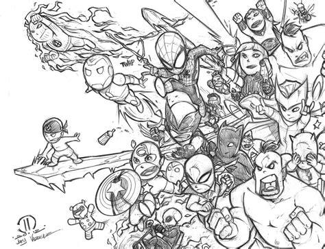 baby avengers by joeyvazquez on deviantart