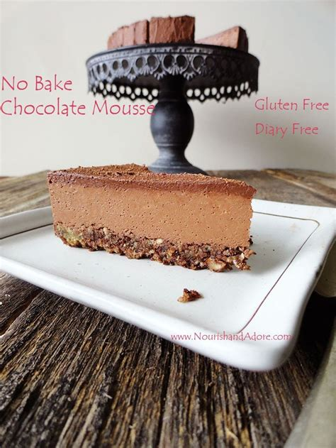 no bake vegan ultimate chocolate mousse with agar agar recipes healthy desserts gluten