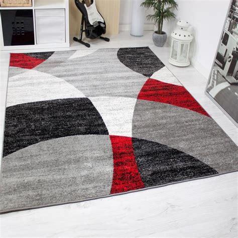 tapis de salon gris blanc achat vente pas cher