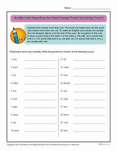 How To Make Noun Chart Spelling Rule Exception For Plural Nouns Words Ending In