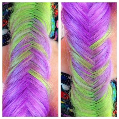 Mermaid Colored Bob Hair Colors Ideas