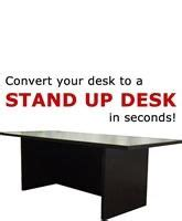 convert your desk to a stand up desk standing desk workstation costco stand up desk type 32