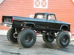 dodge mud truck bangshift com ebay find a monstrous 1967 dodge sweptline