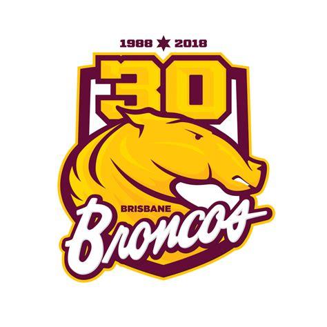 Logo brisbane broncos washington, d.c. third. sports design by Dean Robinson • thirdkit.co