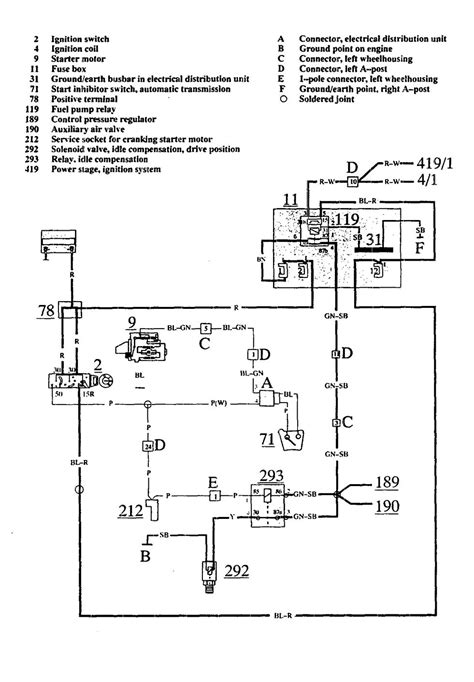 Volvo Wiring Diagrams Fuel Pump Carknowledge