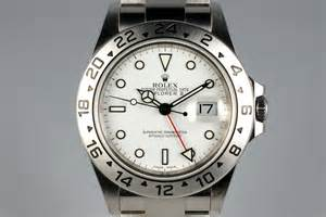 2004 Rolex Explorer II 16570 White Dial