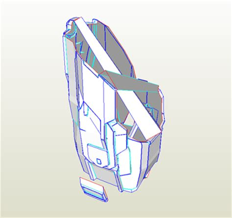 Thigh Armor Template by Halo 4 Files 405th Wiki Fandom Powered By Wikia