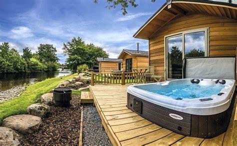 braidhaugh tub lodges crieff perthshire scottish - Holidays With Tubs